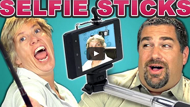 Parents React To Selfie Sticks