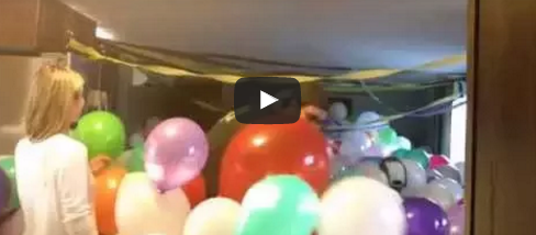 These friends pranked their pal with a house full of balloons while he was away.