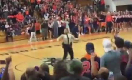 Dancing Police Officer Crushes Beyoncé