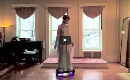 HoverGirl: Hoverboard Ballet